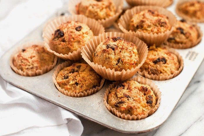 Morning Glory Muffins (Grain-Free)