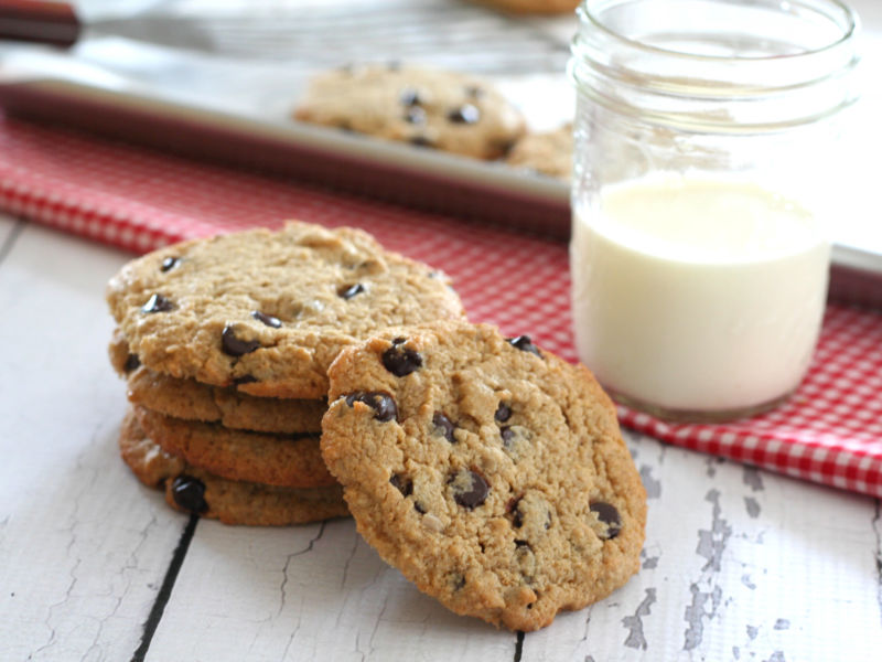 Sunbutter Chocolate Chip Cookies (Low Carb)